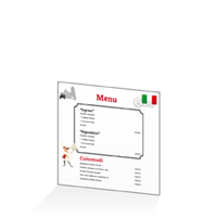 Menu - Europe Italie : 21x21RV