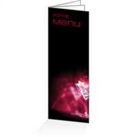 Menu - Lounge pourpre : 6P14x38