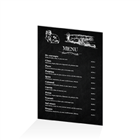 Menu - Ardoise restaurant terroir : A4RV