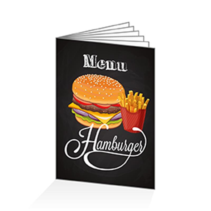 menus pour restos hamburgers. Black Bedroom Furniture Sets. Home Design Ideas