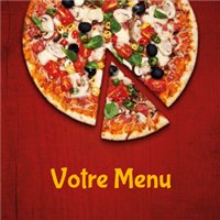 Menu - Hot pizza bordeaux