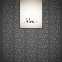menu personnalisable pour restaurant oriental. Black Bedroom Furniture Sets. Home Design Ideas
