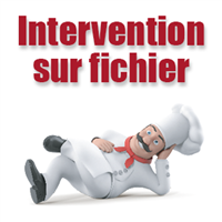 Intervention sur fichier