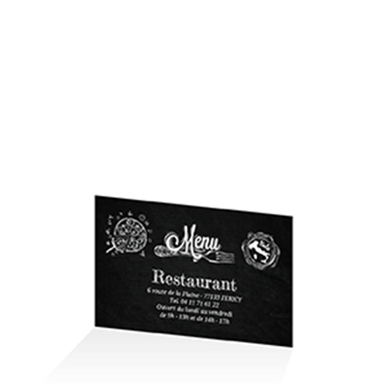 menu original sp cial fond ardoise pour restos italiens et pizz rias. Black Bedroom Furniture Sets. Home Design Ideas