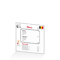 Menu - Europe Belgique : 21x21RV